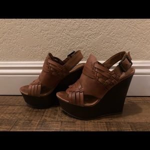 Steve Madden wedge platform heels